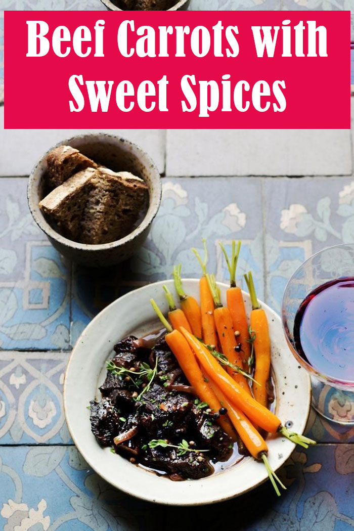 Beef Carrots with Sweet Spices