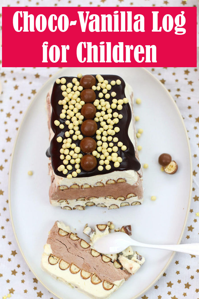 Choco-Vanilla Log for Children
