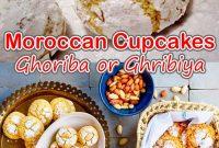 Moroccan Cupcakes Ghoriba or Ghribiya