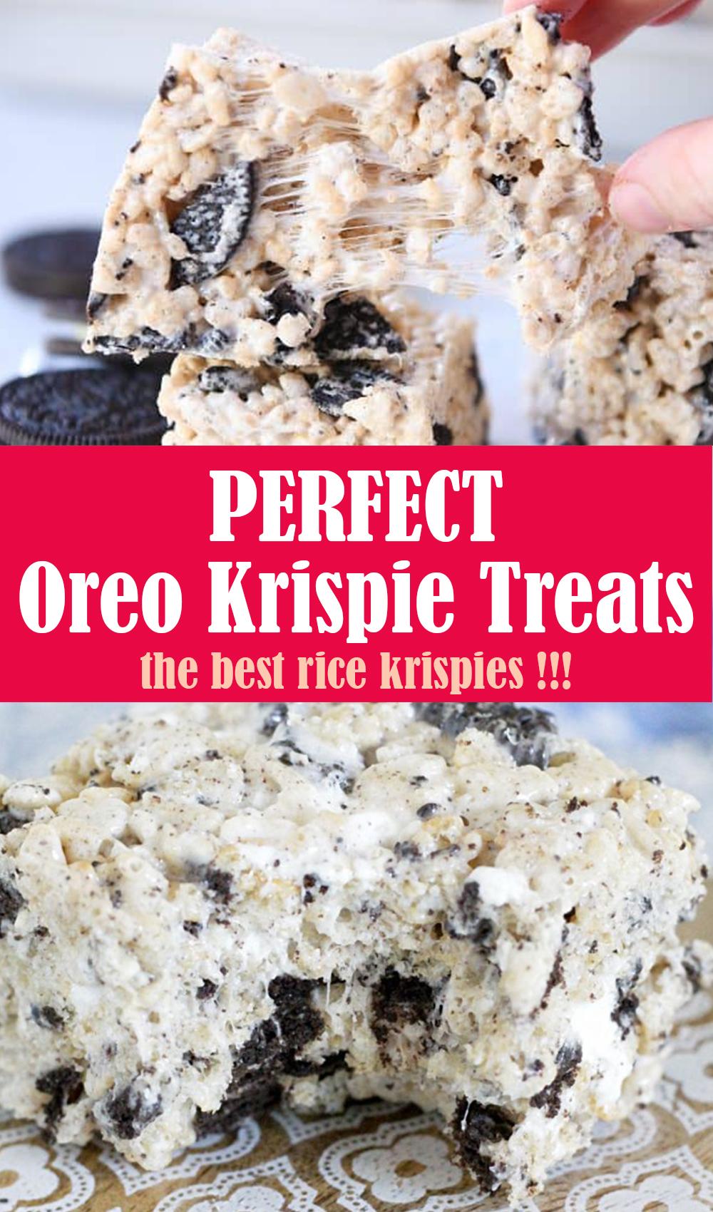 Oreo Krispie Treats Recipe