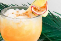 Passion Fruit Rum Punch - Delicious Home Recipes