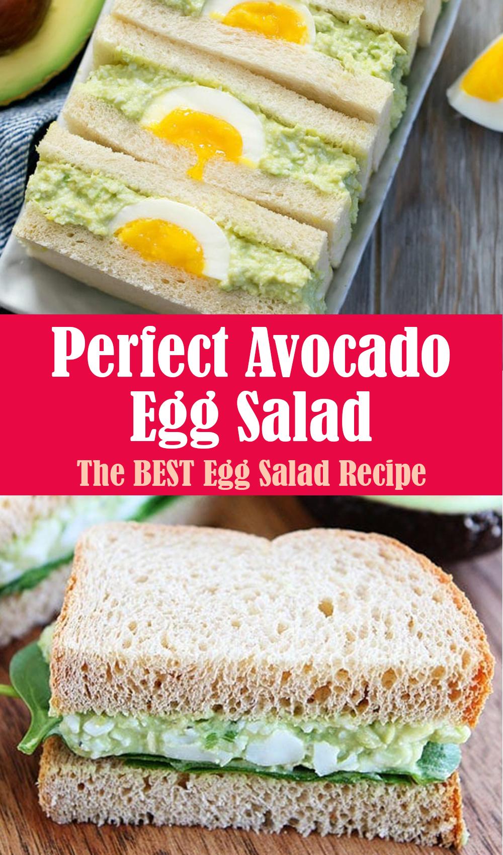 Perfect Avocado Egg Salad