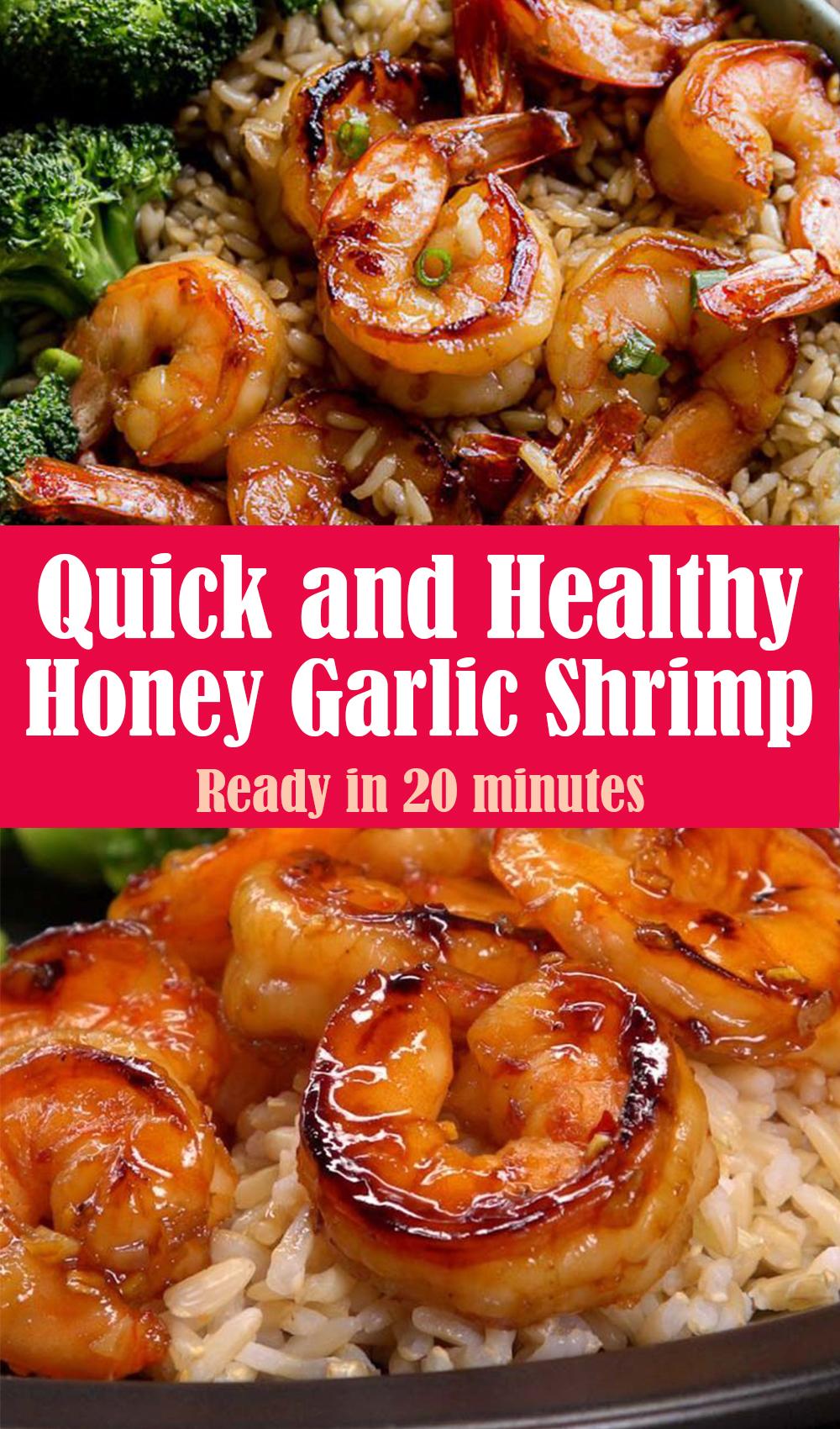 Quick and Healthy Honey Garlic Shrimp Recipe