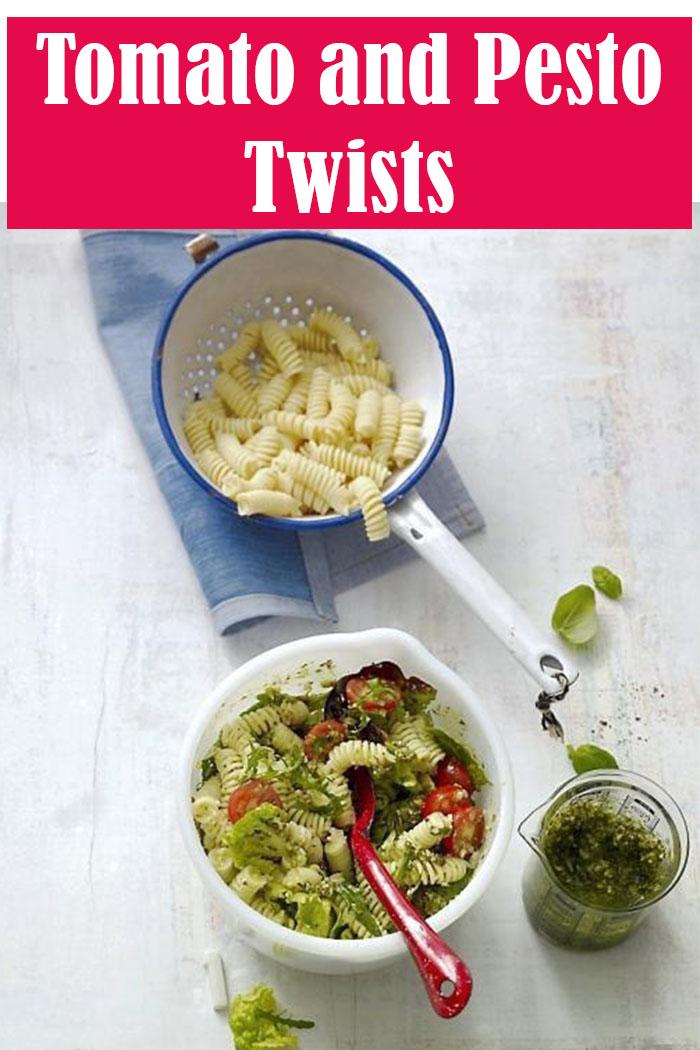 Tomato and Pesto Twists